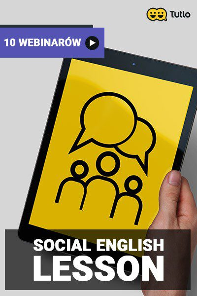 Social English – Lesson – 10 webinarów